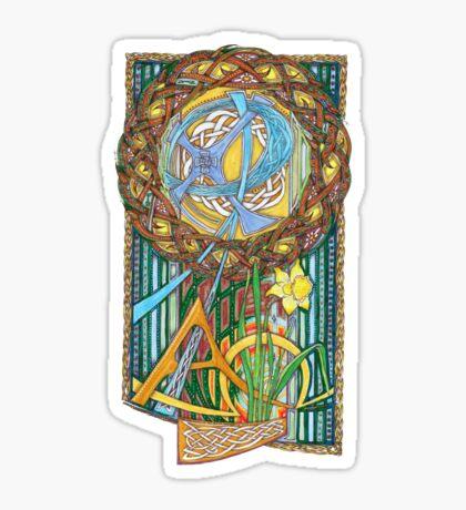 Alpha and Omega Sticker
