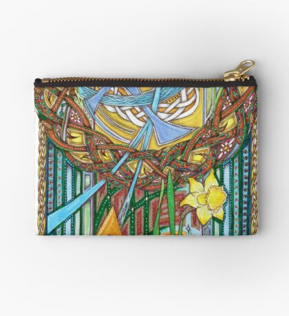 Alpha and Omega Studio Pouch