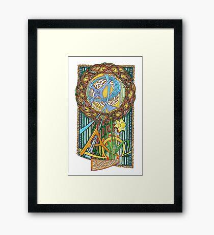 Alpha and Omega Framed Print
