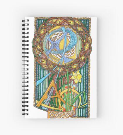 Alpha and Omega Spiral Notebook
