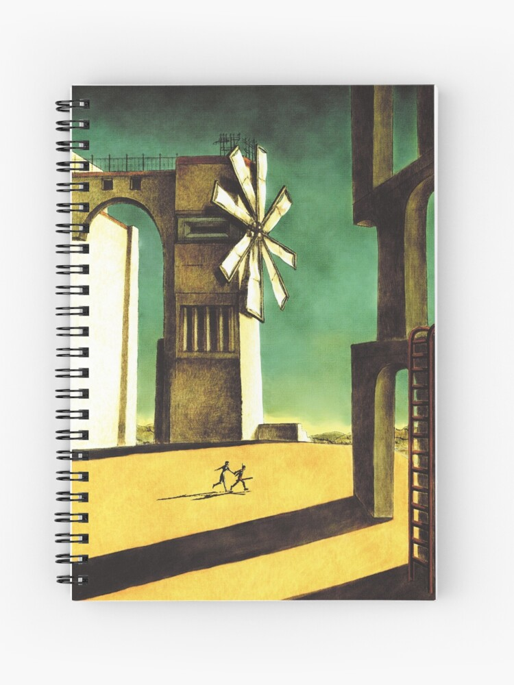 Ico game front cover artwork | Spiral Notebook