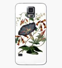 Beautiful black flower Case/Skin for Samsung Galaxy