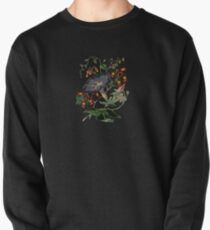 Beautiful black flower Pullover