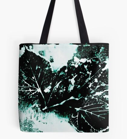 Feuille Charme Turquoise Tote bag