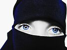 Big Blue eyes by Nathalie Chaput