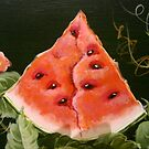 Slice of Watermelon by Cathy Amendola