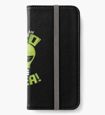 What An Eco Idea Funny Earth Day iPhone Wallet/Case/Skin