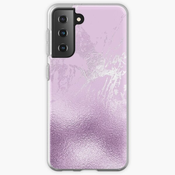 Purple Glamour Glitter and Marble  Samsung Galaxy Soft Case