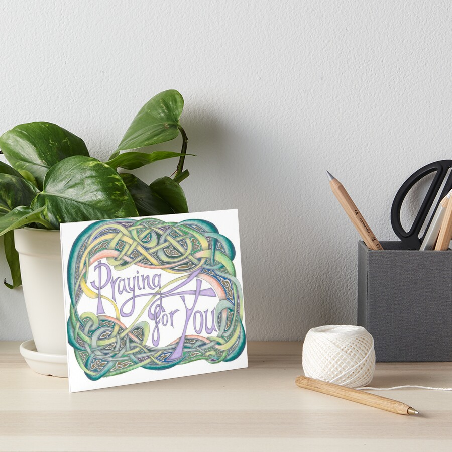 Praying for You Art Board Print