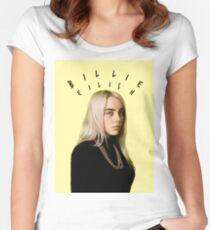 Billie Eilish Women's Fitted Scoop T-Shirt