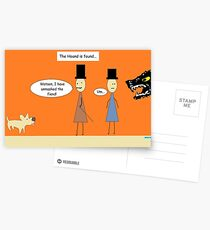 Sherlock and the Hound Postcards