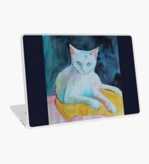 A cat called snowman Laptop Skin