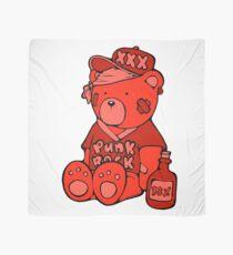 Punk Rock Teddy Bear - Red - Max the Teddybär Foulard