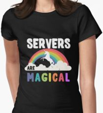 Servers Are Magical Women's Fitted T-Shirt