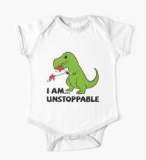 Ich bin nicht aufzuhalten T-Rex Baby Body Kurzarm