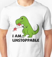 I am unstoppable T-rex Unisex T-Shirt