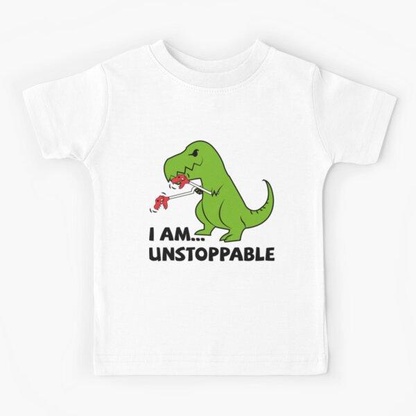 I am unstoppable T-rex Kids T-Shirt