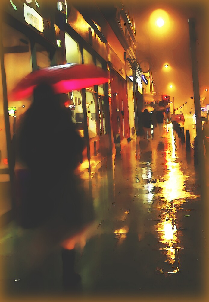 Rainy Night by blacknight