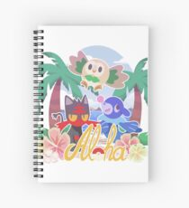 Pokemon Sun & Moon - Aloha Spiral Notebook