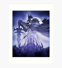 Wrath of the Lich King Art Print