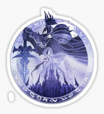 Wrath of the Lich King Sticker