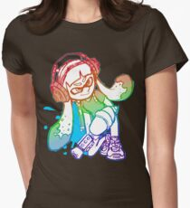 Squid Girl Women's Fitted T-Shirt