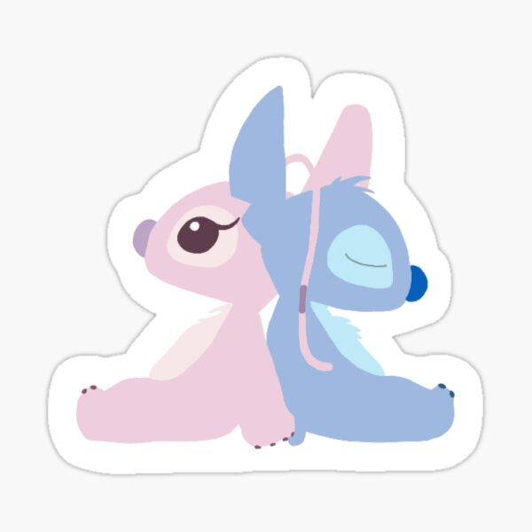 Angel and Stitch  Sticker