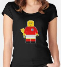 England World Cup 1966 Minifig Women's Fitted Scoop T-Shirt