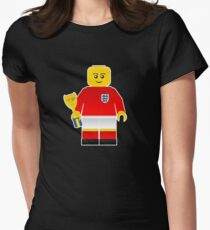 England World Cup 1966 Minifig Women's Fitted T-Shirt