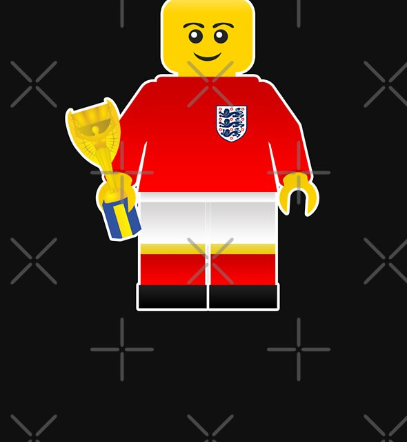 England World Cup 1966 Minifig by everyplate