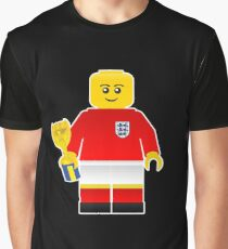 England World Cup 1966 Minifig Graphic T-Shirt