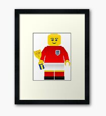 England World Cup 1966 Minifig Framed Print