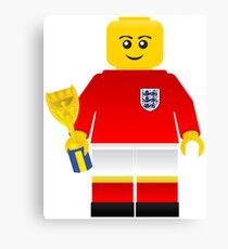 England World Cup 1966 Minifig Canvas Print