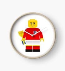 England World Cup 1966 Minifig Clock