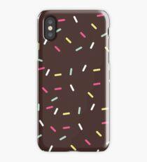 Chocolate Sprinkles iPhone Case