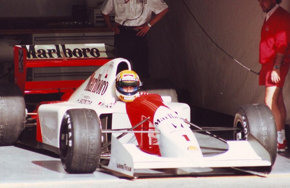 Ayrton Senna, Portugal 1992 by Matthew Walters