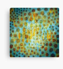 Spotted Cat Canvas Print