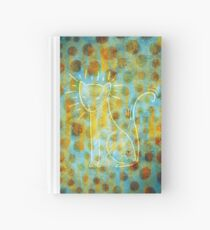 Spotted Cat Hardcover Journal