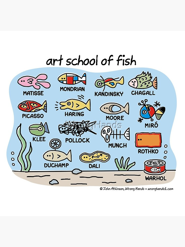 art school of fish by WrongHands