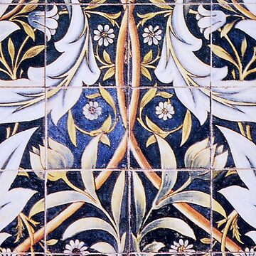 Ceramic tiles, designed by William Morris by TOMSREDBUBBLE