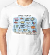 art school of fish Unisex T-Shirt
