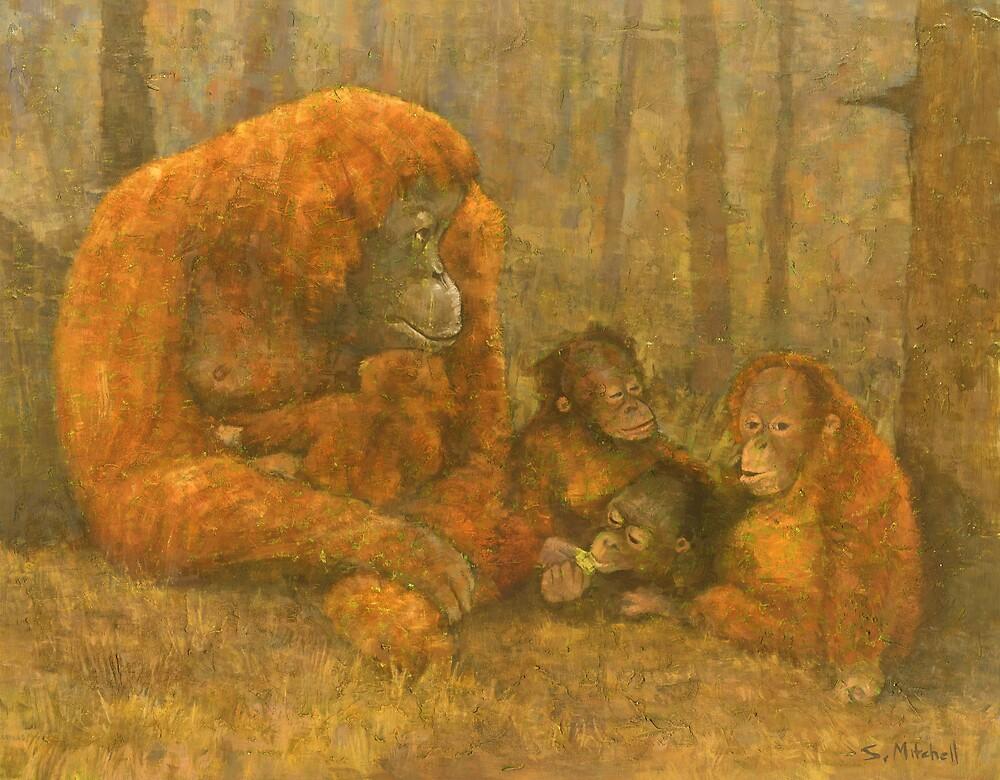 Sumatra Red by Stephen Mitchell