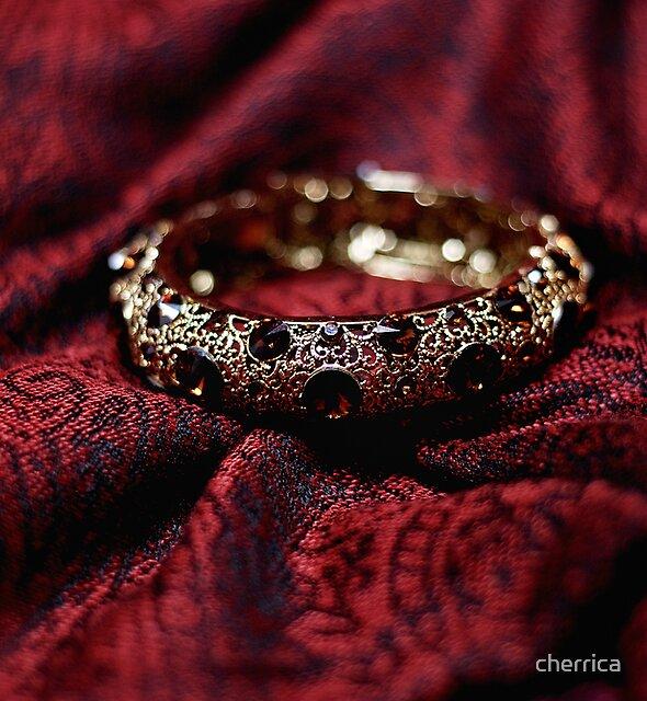Crimson and gold by Chamika Amarasiri