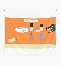 Sherlock and the Hound Wall Tapestry