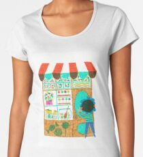 Candy shop Women's Premium T-Shirt