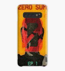 Zer0 Sum Vintage Poster Case/Skin for Samsung Galaxy