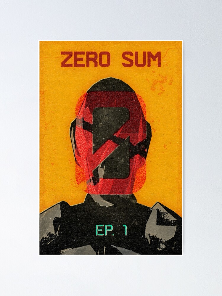 Alternate view of Zer0 Sum Vintage Poster Poster