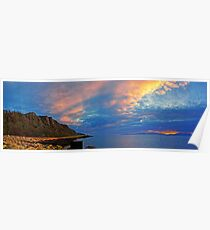 Panoramic Clyde Poster