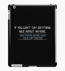 Funny Sarcastic iPad Case/Skin