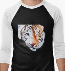 Tigers Combined Men's Baseball ¾ T-Shirt